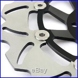 01 02 03 04 05 Front Brake Discs Disks Pads For Suzuki GSF 1200 Bandit / S K1-K5