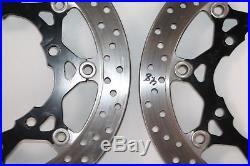 07-09 Suzuki Bandit 1250s Gsf1250s front Brake Rotor Discs 4.8mm Left & right