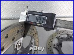 07-Up Suzuki Bandit GSF 1250 Front Disc Brake Rotors OEM