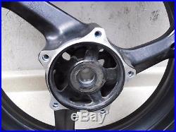 2008 Suzuki Bandit GSF1250S 17 STRAIGHT FRONT WHEEL RIM W TIRE- LOW MILES 1890