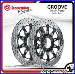 2 Brembo The Groove front Brake Discs 310mm for Suzuki Bandit GSF 650 20072012