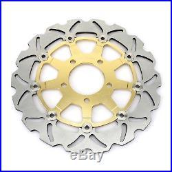 2 Front Brake Discs Disks GSX600F Katana K3 K4 K5 K6 SV650S 11 12 GSF 650 Bandit