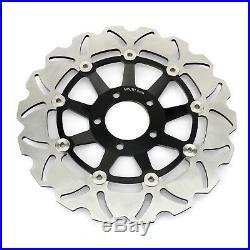 3x Front Rear Brake Discs Rotors Pads For Suzuki Bandit 1200 GSF1200S 2001-2005