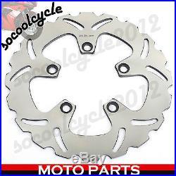 3pcs Front Rear Brake Disc Rotor For Suzuki GSF600 Bandit 95-04 99 00 01 02 03