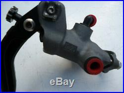 Accossato 19x20 Radial Front Brake Master Cylinder & Brand New Lever Race Track