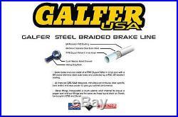 All Gold Front S. S. Brake Lines 3 Line Kit GSF600 Bandit GSF600 Bandit S
