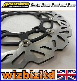 Armstrong Front Wavy Brake Disc Suzuki GSF1250S Bandit K7 K8 K9 2007-09 BKF740