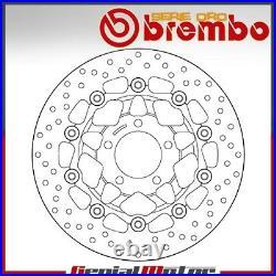 Brake Disc Floating Brembo Oro Front Suzuki Gsf Bandit 600 1995 2004