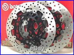Brembo Brake Discs Front Floating 78b66 Suzuki Gsf Bandit S 1250 Abs 2011