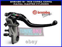 Brembo Radial Brake Master Cylinder 19rcs Corsacorta Suzuki Gsf1250s Bandit 07