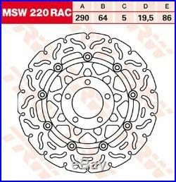 Bremsscheibe Suzuki GSF600 Bandit /S GN77B Bj. 1997 TRW Lucas MSW220RAC