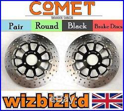 COMET Pair Front Brake Discs Suzuki GSF 600 K3/K4 (Faired Bandit) 00-04 R903BK