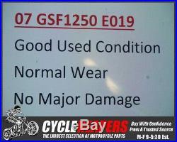 E019 2007 07-09 Suzuki Bandit 1250 GSF1250 Front Brake Disc Rotors Straight