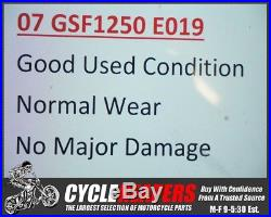 E019 2007 07-09 Suzuki Bandit 1250 GSF1250 Front Forks Tubes Shocks Legs