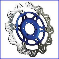 EBC Front Blue Vee Rotor Brake Disc For Suzuki 2004 GSF600S Bandit K4 VR3003BLU