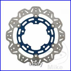 EBC Front Brake Disc Vee Rotor Blue Suzuki GSX 650 F 2012-2016