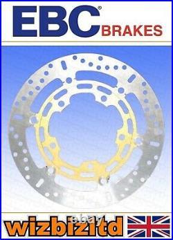 EBC Front Left Brake Disc Gold Round Type X MD3092X