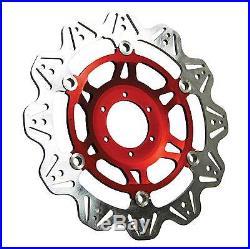 EBC Front Red Vee Rotor Brake Disc For Suzuki 2001 GSF1200S Bandit K1 VR3006RED