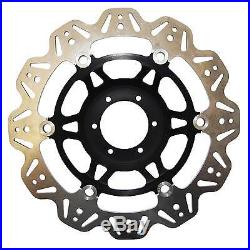 EBC Vee Rotor Black Front Brake Discs For Suzuki 2002 GSF1200S Bandit K2