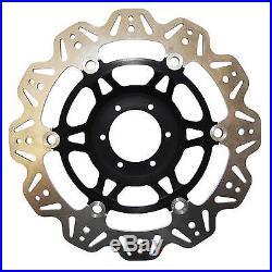 EBC Vee Rotor Black Front Brake Discs For Suzuki 2008 GSF1250S Bandit K8