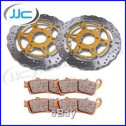 EBC XC Front Brake Disc (s) & HH Pads Suzuki 2008 GSF1250S Bandit K8
