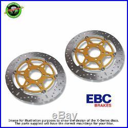 EBC X Series Front Discs For Suzuki GSF600 Bandit Y-K4 2000-2004 Pair