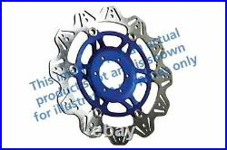 FIT SUZUKI GSF 1200 K1/K2/K3/K4/K5 0105 EBC VR Brake Disc Blue Hub Front Right
