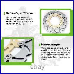 For GSF1200 Bandit / S 1995-2005 RF 900 R 1994-1999 Gold Front Brake Discs Disks