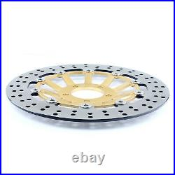 For GSF 1200 Bandit / S 1996-2000 RF900R 1996-1999 Front Brake Discs Disks Pads