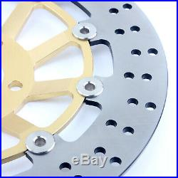 For GSF 1200 Bandit / S 96-05 RF 900 R 94-99 GSX 1200 FS Front Brake Discs Disks