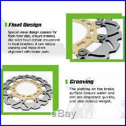 For GSF 1200 Bandit / S GSX 1200 FS GS 1200 SS / Z Front Rear Brake Discs Disks