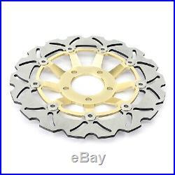 For GSF 400 Bandit N V GSX400 Impulse GSX 600 750 F Front Rear Brake Discs Disks
