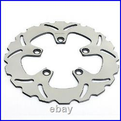 For GSF 600 Bandit / S 00-04 GSX 750 F 98-02 SV 650 S Front Rear Brake Discs Pad