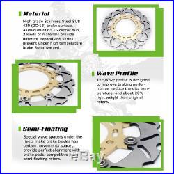 For GSX1300R GSF 650 1200 1250 Bandit / S DL 650 V-Strom Front Brake Discs Disks