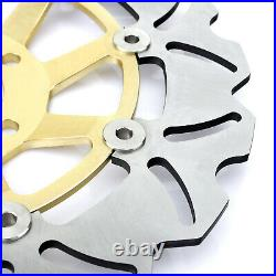 For GS 500 E GS500E 1998-2003 GS 500 F GS500F 2004-2011 Front Rear Brake Discs