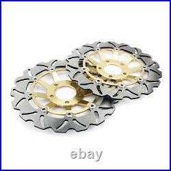 For SUZUKI GSF 1200 Bandit / S 2001-2005 02 03 04 Front Brake Discs Disks Pads