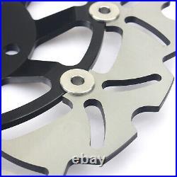 For SUZUKI GSF 600 Bandit S 94-04 SV 650 S X 99-02 Wavy Front Rear Brake Discs