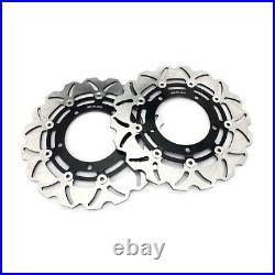 For SUZUKI GSF 650 1250 S Bandit 08-12 GSX650F 08-17 Front Rear Brake Discs Pads