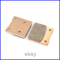 For SUZUKI GSX750F 98-02 GSF 600 Bandit S 2000-2004 Front Rear Brake Discs Pads