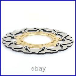 For SUZUKI SFV 650 Gladius / ABS 09-17 11 12 13 14 15 16 Pair Front Brake Discs