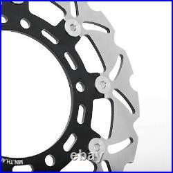 For SUZUKI SFV 650 Gladius ABS 09-17 SV650S ABS 07-12 Front Brake Discs Rotors