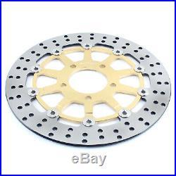 For SV 650 S 03-15 GSF 650 Bandit /S 05-06 GSX 600 750 F Front Brake Discs Disks