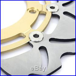 For Suzuki Front Rear Brake Discs Rotors Pads Bandit GSF1250 S 07-15 GSF 650 F