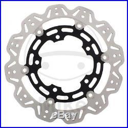 EBC Vee Rotor Black Front Brake Disc For Suzuki 2010 GSX-R750 LO