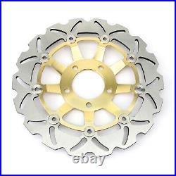 For Suzuki GSF 600 Bandit / S 00-04 GSX 750 F Front Rear Brake Discs Disks Pads