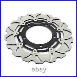 For Suzuki GSF 650 1250 Bandit / S 07 08 09 10 11 12 Wavy Front Rear Brake Discs