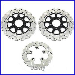 For Suzuki GSF 650 Bandit S ABS K5 K6 GSX 600 750 F Front Rear Brake Discs Disks