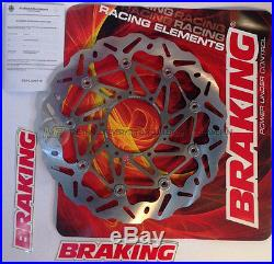 For Suzuki Gsf Bandit 1200 2002 02 Front Brake Disc Wave Braking Sk2 Floating