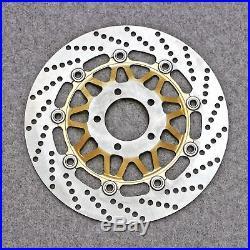 Front Brake Disc Rotor Fit For Suzuki RG125 Gamma GSF250 Bandit RGV250 GSX-R 400