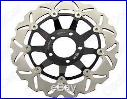 Front Brake Disc Rotor For SUZUKI 20002004 GSF 600 Bandit SV 650 19992002 Blak